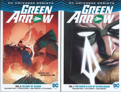 Picture of GREEN ARROW #1 & 2 DC REBIRTH GRAPHIC NOVEL TPB SET NEW