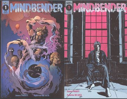 Picture of MINDBENDER #1 COVER A B SET NM SCOUT COMICS