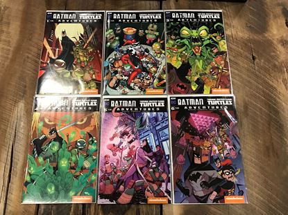 Picture of BATMAN TMNT ADVENTURES #1-6 1ST PRINT SET NM
