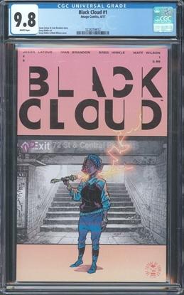 Picture of BLACK CLOUD #1 CGC 9.8 NM/MT