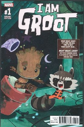 Picture of I AM GROOT #1 1:10 NIGHT NIGHT GROOT VAR 9.2 NM-
