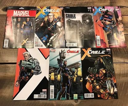 Picture of CABLE #1  7 VARIANT COVER SET