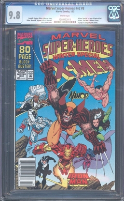 Picture of MARVEL SUPER-HEROES #8 CGC 9.8 NM/MT WP