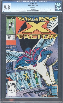 Picture of X-FACTOR #24 CGC 9.8 NM/MT WP