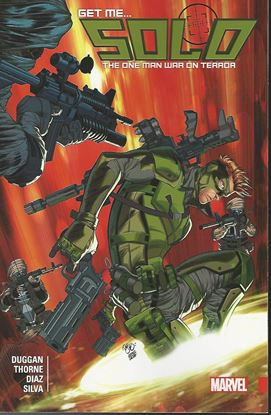 Picture of SOLO TP VOL 01 ONE MAN WAR ON TERROR