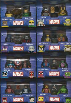 Picture of MARVEL MINIMATES GREATEST HITS SERIES 1 & 2 SET OF 16