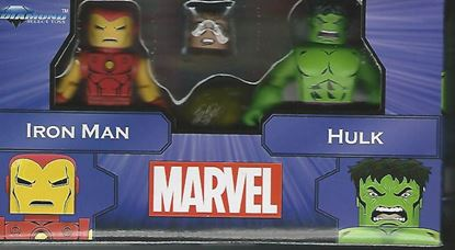 Picture of MARVEL MINIMATES GREATEST HITS SERIES 1 IRON MAN & HULK 2-PACK