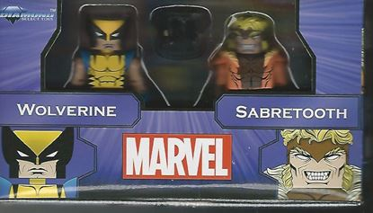 Picture of MARVEL MINIMATES GREATEST HITS SERIES 1 WOLVERINE & SABRETOOTH 2-PACK