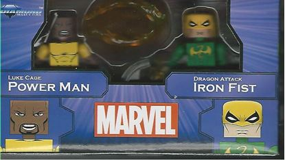 Picture of MARVEL MINIMATES GREATEST HITS SERIES 2 POWER MAN & IRON FIST 2-PACK