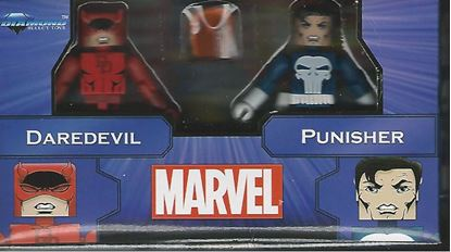 Picture of MARVEL MINIMATES GREATEST HITS SERIES 2 DAREDEVIL & PUNISHER 2-PACK