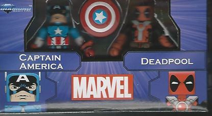 Picture of MARVEL MINIMATES GREATEST HITS SERIES 2 CAPTAIN AMERICA & DEADPOOL 2-PACK
