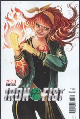 Picture of IRON FIST (2017) #4 HANS MARY JANE VAR NM-