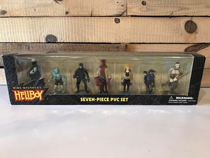 Picture of Mike Mignola's Hellboy Seven 7 Piece PVC Set