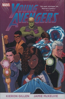 Picture of YOUNG AVENGERS BY GILLEN AND MCKELVIE OMNIBUS HC