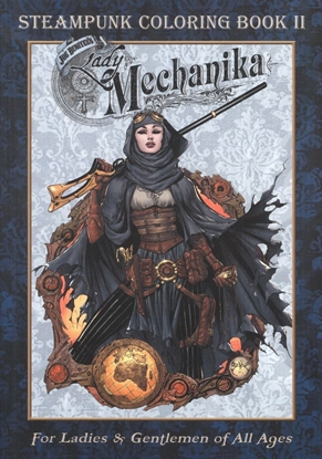 Picture of LADY MECHANIKA STEAMPUNK COLORING BOOK TP VOL 2