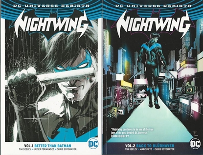Picture of NIGHTWING TP VOL 1 & 2 REBIRTH SET