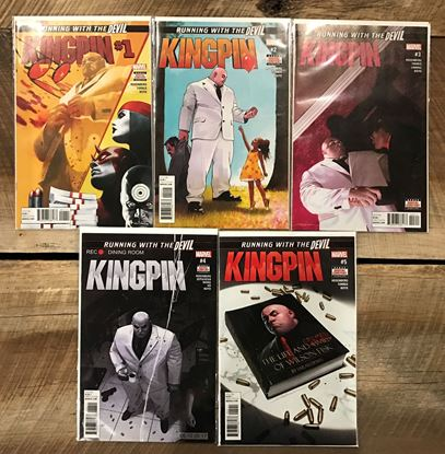 Picture of KINGPIN (2017) #1-5 1ST PRINT SET NM
