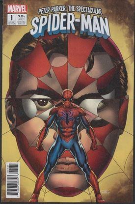 Picture of PETER PARKER SPECTACULAR SPIDER-MAN #1 CASSADAY VAR