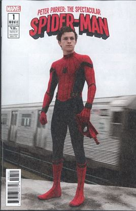 Picture of PETER PARKER SPECTACULAR SPIDER-MAN #1 MOVIE VAR