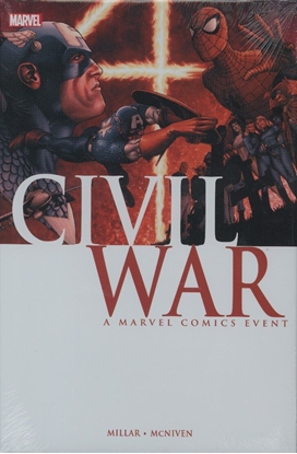 Picture of CIVIL WAR HC MCNIVEN COVER NEW PRINTING