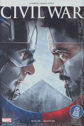 Picture of CIVIL WAR HC MOVIE COVER NEW PRINTING
