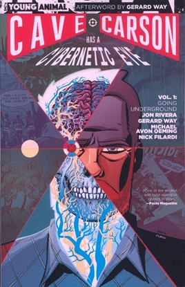 Picture of CAVE CARSON HAS A CYBERNETIC EYE TPB VOL 1 GOING UNDERGROUND