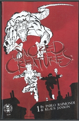 Picture of SACRED CREATURES #1 CVR C MILLER VF/NM