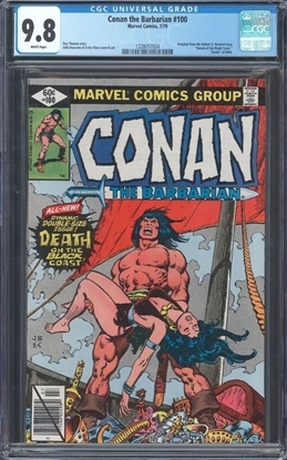 Picture of CONAN THE BARBARIAN (1970) #1 7.0 FN/VF COW
