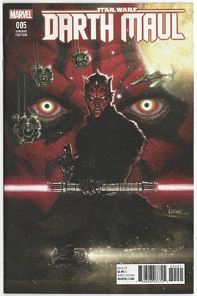 Picture of STAR WARS DARTH MAUL #5 (OF 5) ANDREWS 1:25 VARIANT