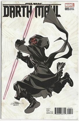 Picture of STAR WARS DARTH MAUL #5 TERRY DODSON VAR
