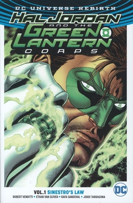 Picture of HAL JORDAN & THE GLC TP VOL 01 SINESTROS LAW (REBIRTH)