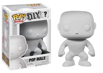 Picture of FUNKO POP CUSTOM D.I.Y. ? POP MALE NEW VINYL FIGURE