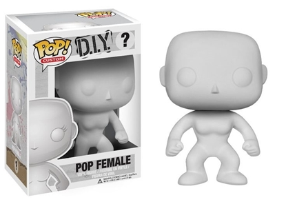 Picture of FUNKO POP CUSTOM D.I.Y. ? POP FEMALE NEW VINYL FIGURE