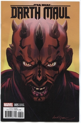 Picture of STAR WARS DARTH MAUL #5 (OF 5) LOPEZ VAR NM