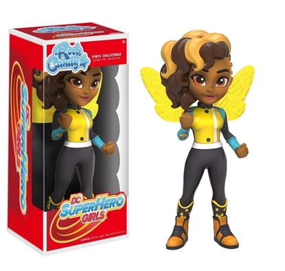 Picture of FUNKO ROCK CANDY SUPERHERO GIRLS BUMBLE BEE NEW VINYL COLLECTIBLE