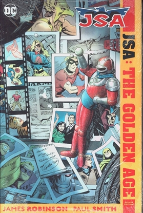 Picture of JSA THE GOLDEN AGE DELUXE ED HC