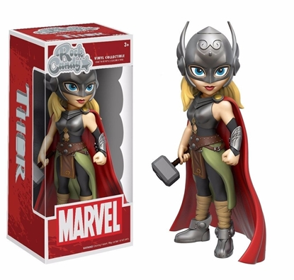 Picture of FUNKO ROCK CANDY LADY THOR NEW VINYL COLLECTIBLE