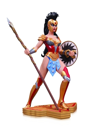Picture of WONDER WOMAN ART OF WAR STATUE BY AMANDA CONNER