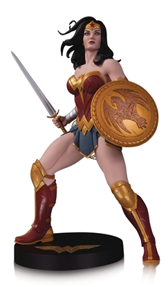 Picture of DC DESIGNER SER WONDER WOMAN BY FRANK CHO STATUE