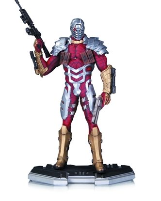 Picture of DC COMICS COLLECTIBLES ICONS DEADSHOT STATUE NEW IN BOX NIB