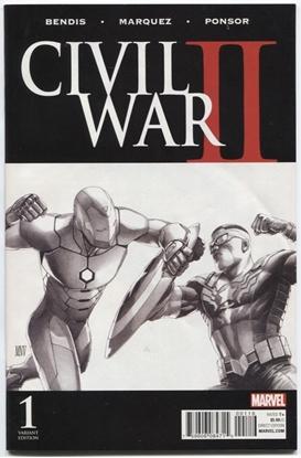 Picture of CIVIL WAR II #1 1:200 STEVE MCNIVEN VARIANT