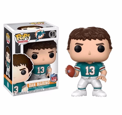 Picture of FUNKO POP FOOTBALL N.F.L. LEGENDS DOLPHINS DAN MARINO #91 NEW VINYL FIGURE