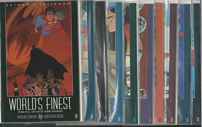 Picture of WORLD'S FINEST (1999) #1-10 SET NM KESEL $49.50 RETAIL