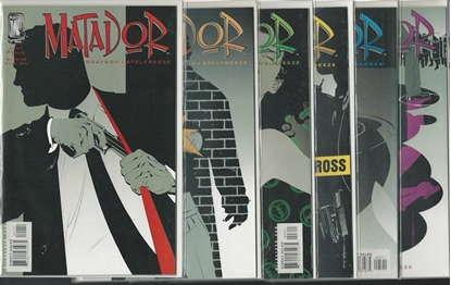Picture of MATADOR #1 2 3 4 5 6 WILDSTORM SET NM GRAYSON