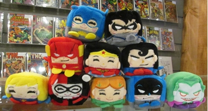 Picture of WISH FACTORY KAWAII CUBES DC SERIES 1 PLUSHIE HEADS SET OF 10