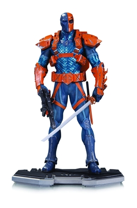 Picture of DC COMICS ICONS DEATHSTROKE STATUE NEW NIB
