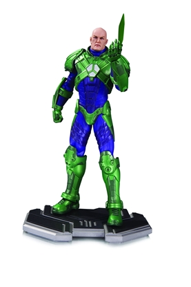 Picture of DC COMICS ICONS LEX LUTHOR STATUE NEW NIB