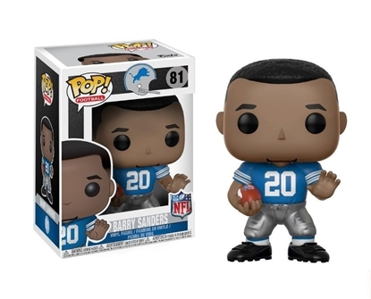 Picture of FUNKO POP FOOTBALL N.F.L. LEGENDS BARRY SANDERS LIONS #81 NEW VINYL FIGURE