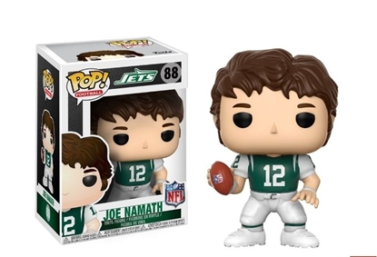 Picture of FUNKO POP FOOTBALL N.F.L. LEGENDS JOE NAMATH JETS #88 NEW VINYL FIGURE