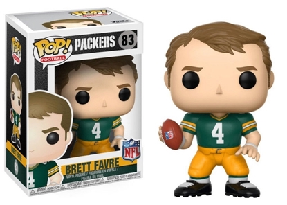 Picture of FUNKO POP FOOTBALL N.F.L. LEGENDS BRETT FAVRE PACKERS #83 NEW VINYL FIGURE